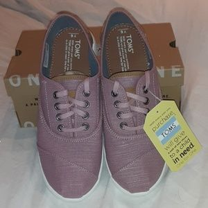TOMS GIRLS YOUTH CORDONES CANVAS